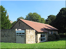 TQ4251 : St Andrew, Limpsfield Chart: church hall by Stephen Craven