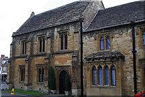ST6316 : Hospital of Saints John the Baptist and John the Evangelist, Abbey Close, Sherborne by Jo Turner