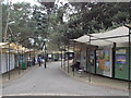 SZ0891 : Bournemouth: Pine Walk art gallery by Chris Downer