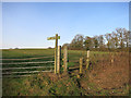 SU5173 : Footpath and Stile by Des Blenkinsopp
