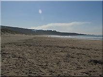 SH5630 : Harlech Beach by Matthew Chadwick