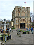TL8564 : Abbey Gate, Bury St Edmunds by Andrew Hackney