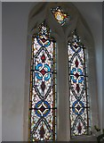 SU1062 : St. Mary, Alton Barnes: stained glass window by Basher Eyre