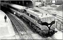 W6872 : Train, Cork station (July 1987) by Albert Bridge