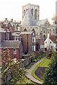 SE6052 : York, 1989: across Deanery Garden to Minster by Ben Brooksbank