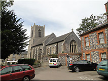 TL8683 : St. Peter's church, Thetford by Adrian S Pye