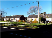 ST8026 : Rolls Bridge Lane bungalows, Gillingham by Jaggery