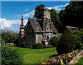 SO9308 : Grade II listed Miserden Park Lodge by Jaggery