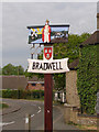 TG5003 : Bradwell village sign by Adrian S Pye