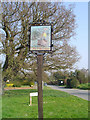 TM2260 : Cretingham village sign by Adrian S Pye