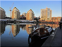 TQ3680 : Late afternoon, Limehouse Basin by Colin Park