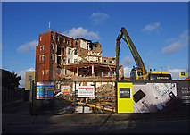 SD4464 : Hotel Broadway - not for long by Ian Taylor