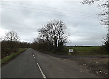 TL2055 : Drewels Lane, Abbotsley by Adrian Cable
