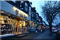 SK3386 : Shops on Ecclesall Road by Andrew Tryon
