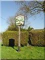 TM0669 : Finningham village sign by Adrian S Pye