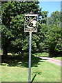 TL9850 : Hitcham village sign by Adrian S Pye