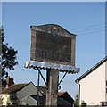 TM1074 : Mellis village sign by Adrian S Pye