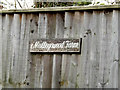 TL9862 : Mulleyswood Farm sign by Adrian Cable