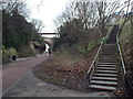 NZ4059 : Path through Roker Park, near Sunderland by Malc McDonald