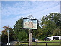 TL8270 : West Stow village sign by Adrian S Pye