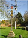 TM0174 : Wattisfield village sign by Adrian S Pye