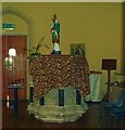 TQ2904 : Pulpit and statue, St. Patrick's, Hove by nick macneill