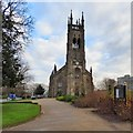 SJ9398 : St Peter's Church, West End by Gerald England
