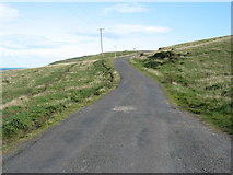 NX1430 : The lane from the Mull of Galloway by David Purchase