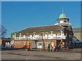 TQ0762 : Brooklands club house by Alan Hunt
