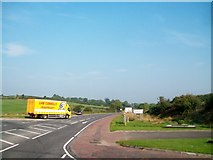 H9517 : Lorry turning from the B30 into the New Road (A29) by Eric Jones