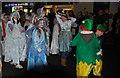 SO5968 : Santa Parade Christmas 2014, Teme Street, Tenbury Wells, Worcs by P L Chadwick