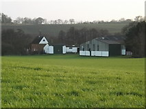 TM3876 : Red House Farm. Halesworth by Adrian Cable