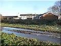 SE3227 : Flooded track, Howlet Cross by Christine Johnstone