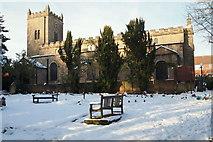 SK5855 : St Mary's Church, Blidworth, Notts. by David Hallam-Jones
