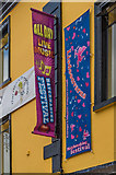 R1398 : Lisdoonvarna Matchmaking Festival banners, Imperial Hotel by Ian Capper