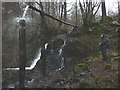 SD3391 : 'Lady of the Water', a sculpture at Grizedale Forest by Karl and Ali