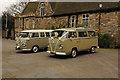 SK9771 : Wedding cars by Richard Croft