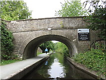 SJ2442 : Bridge 41W, Llangollen Canal by Richard Rogerson