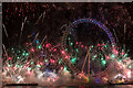 TQ3079 : 2015 New Year Fireworks, London SE1 by Christine Matthews