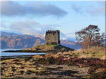 NM9247 : Castle Stalker by sylvia duckworth