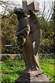 SO9279 : Memorial in the churchyard at St Leonard's, Clent by Phil Champion
