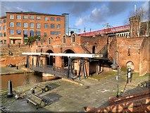 SJ8397 : The Grocers' Warehouse, Castlefield Basin by David Dixon