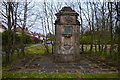 SO9180 : Drinking fountain near the Kidderminster Road roundabout, Hagley by Phil Champion