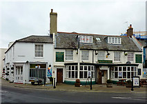 TQ0202 : The White Hart in Littlehampton, West Sussex by Roger  Kidd