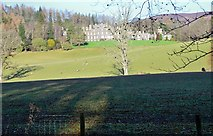 NT4227 : Bowhill House from the south by Jim Barton