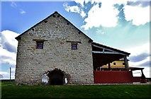 SJ5608 : Wroxeter Roman City: Viroconium: The 2010 recreated house by Michael Garlick