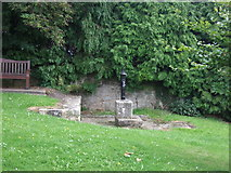SK5276 : Old pump, Whitwell by JThomas