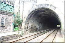SE3457 : Tunnel, Knaresborough Station by N Chadwick
