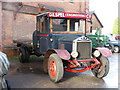 SK2625 : Claymills Victorian Pumping Station - motor lorry by Chris Allen