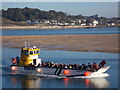 SW9275 : Padstow: the Rock ferry returns by Chris Downer